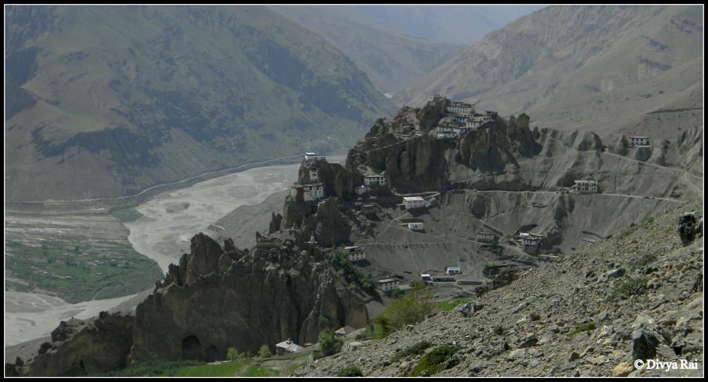 demul village in Spiti
