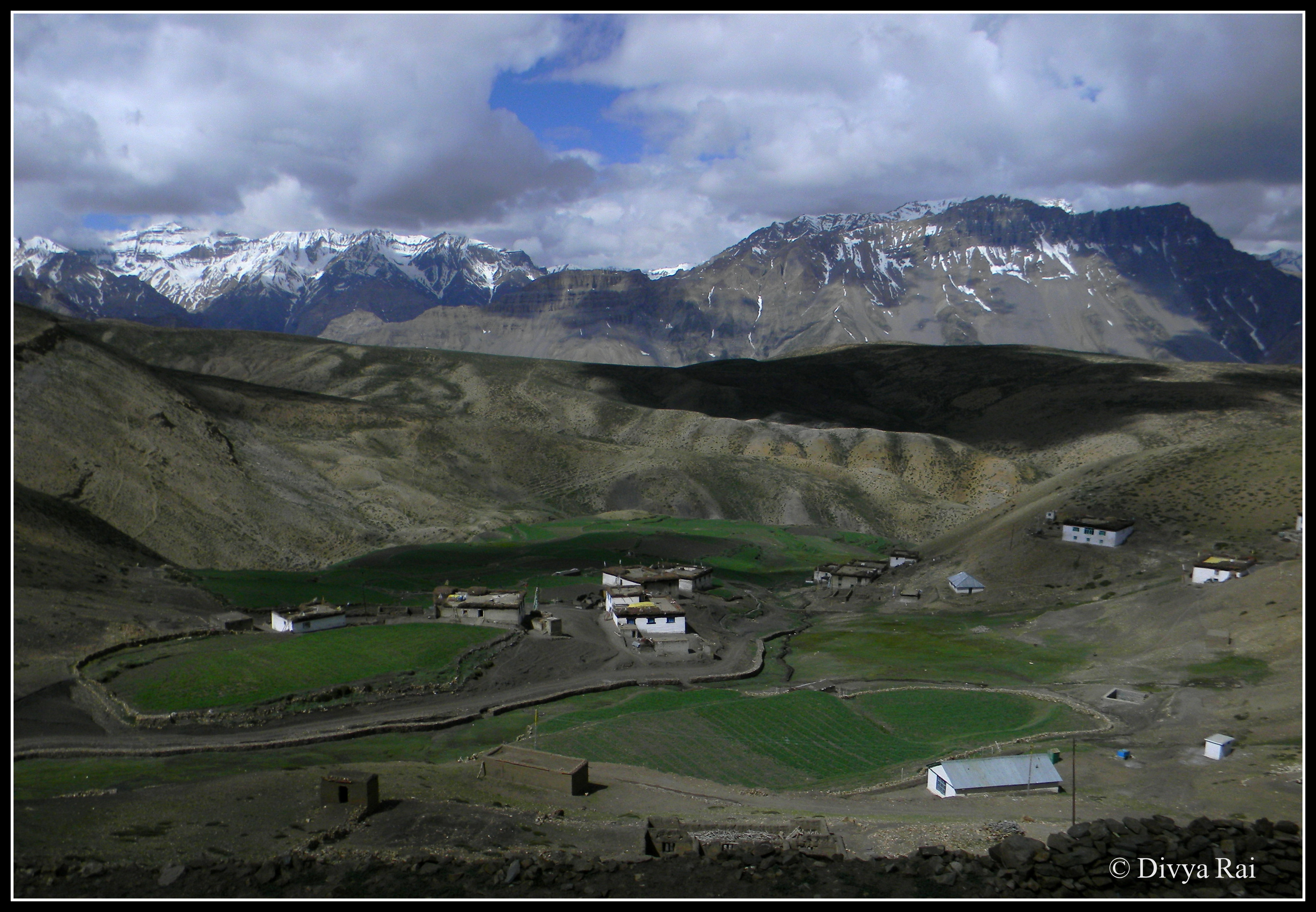 Komik village in Spiti