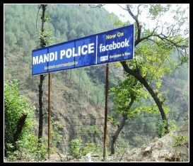 Mandi Police on Facebook