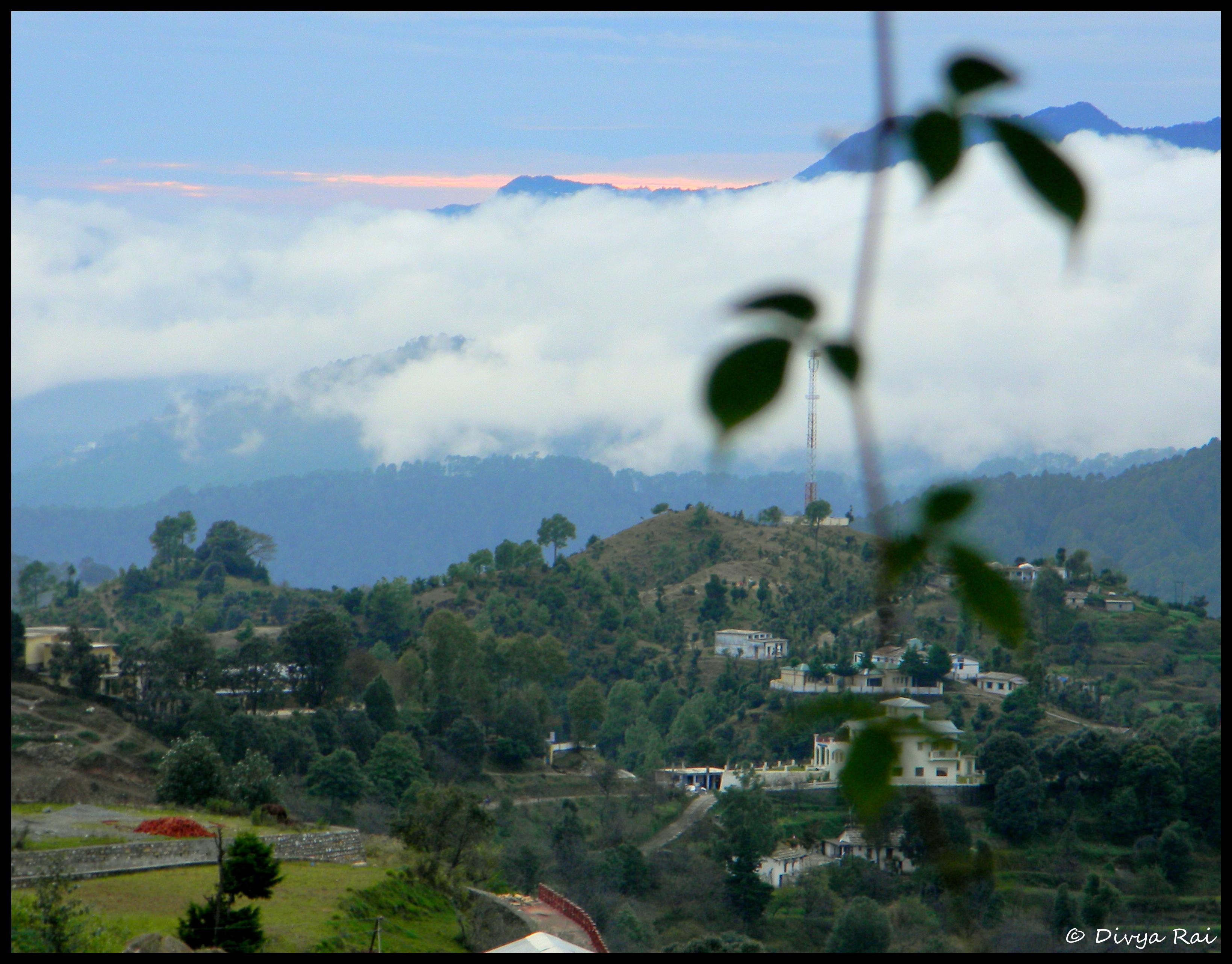 A Himalayan settlement