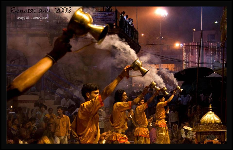 Aarti on Ganga in Varanasi