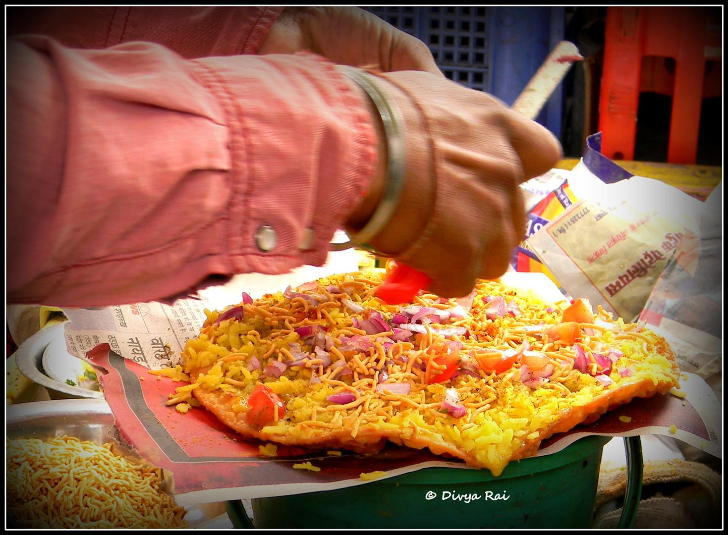 Daal-pakwaan in Pushkar, Rajasthan.