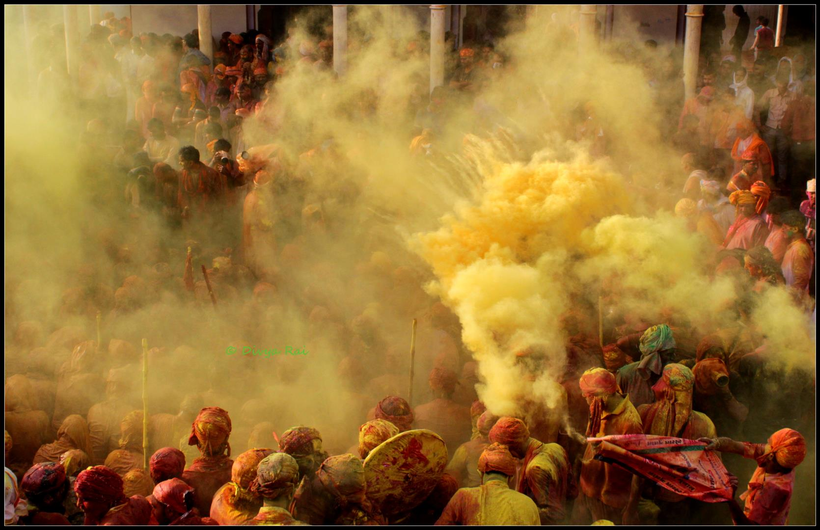 Holi at Barsana