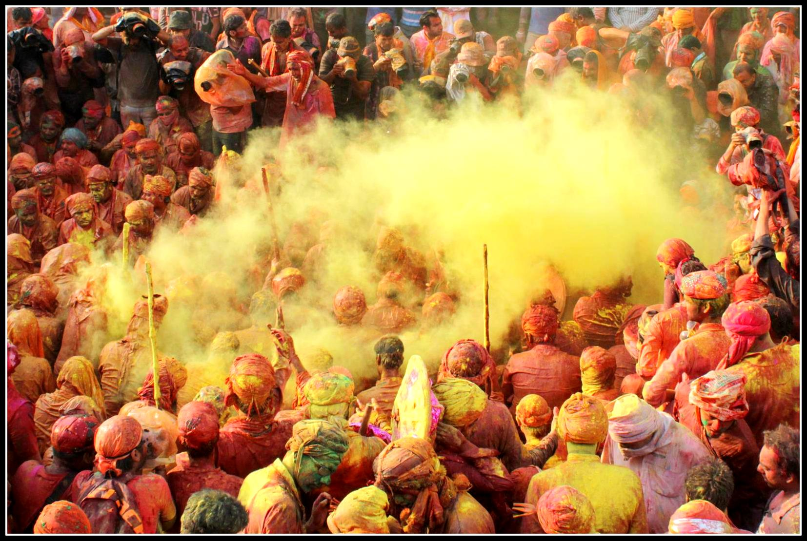 Holi at Vrindavan