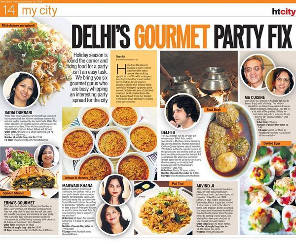 Home Chefs in Delhi