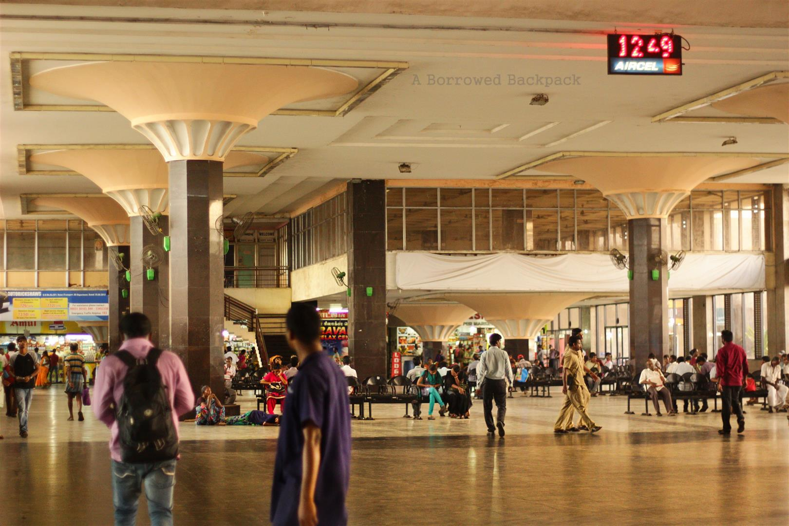 Chennai bus station