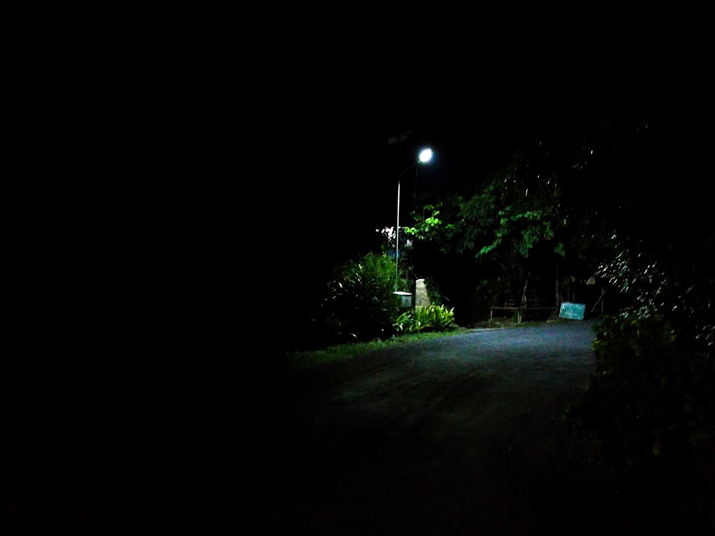 Solar lights in Meghalaya