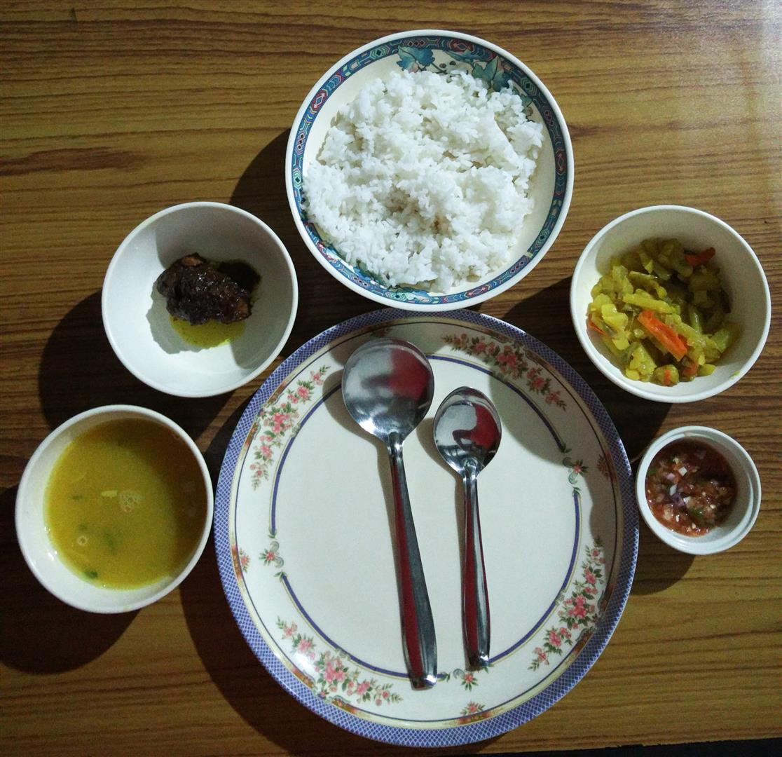 Vegetarian Food in Meghalaya (Large)