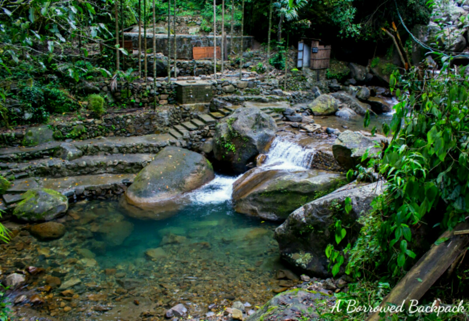 Nongriat waterfall