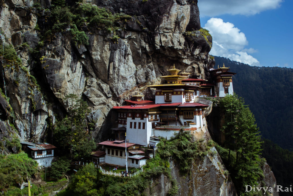 Taktsang Monastery height