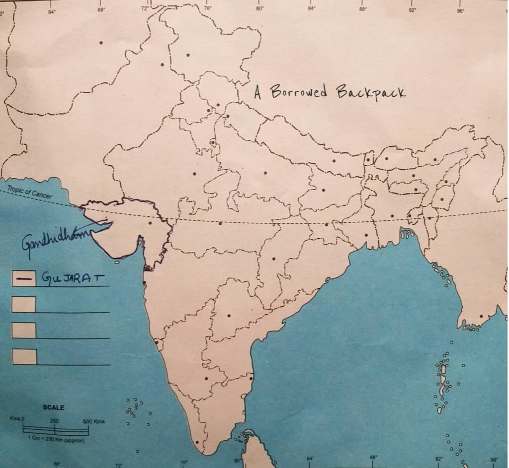 gujarat-on-indian-map