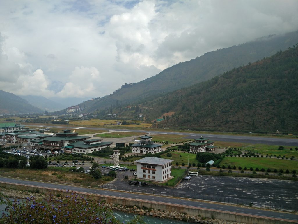 Why is the Paro Airport toughest to land on?
