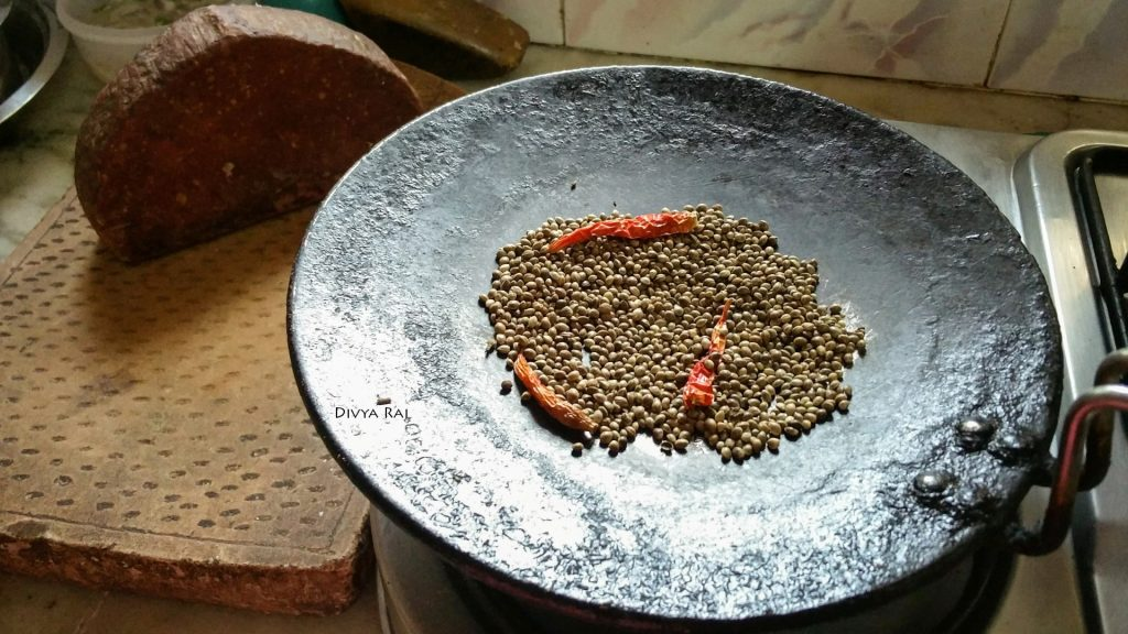 Hemp Bhang ki Chutney ingredients