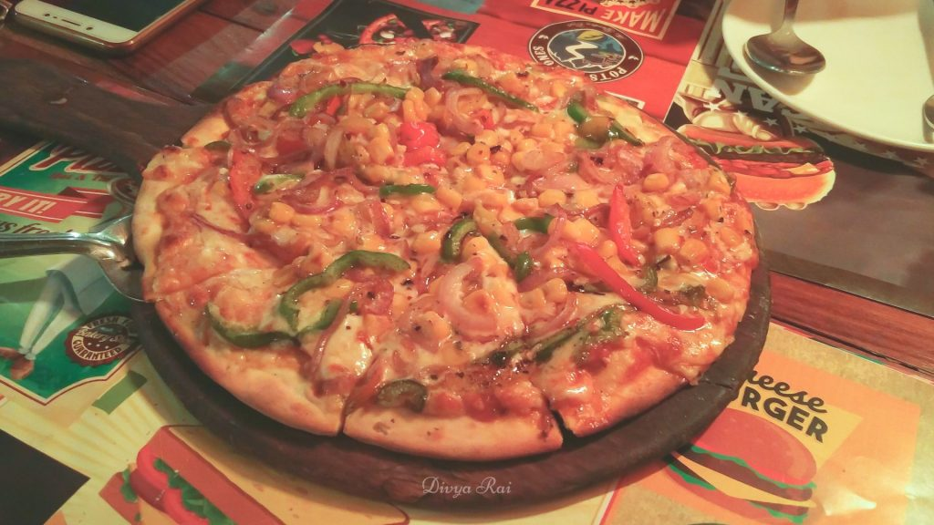 Pots and Stones Haldwani Pizza