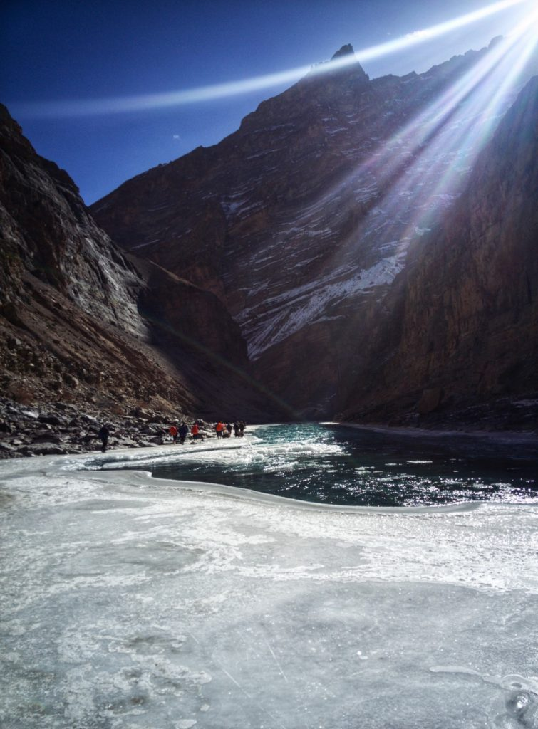 What does it feel like on Chadar Trek?